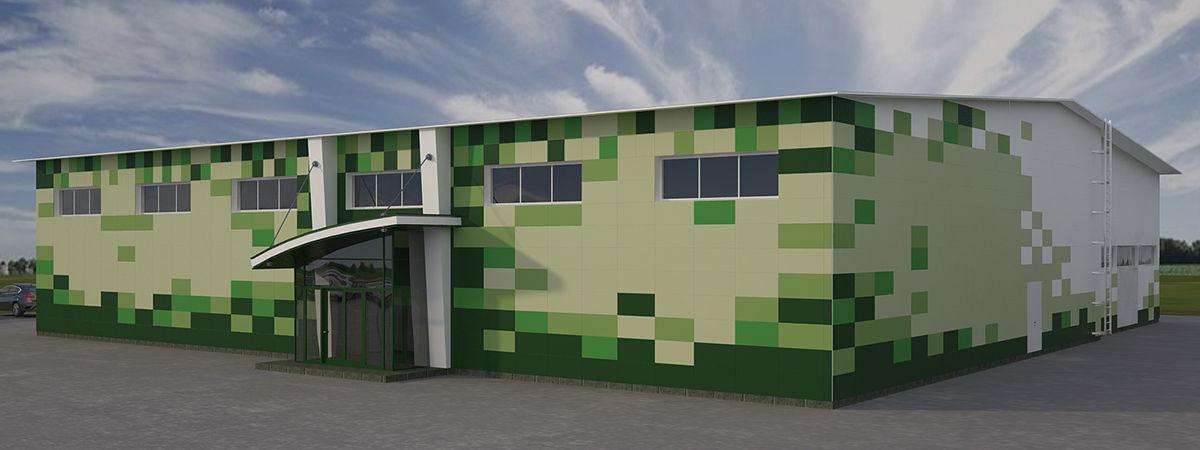 вентилируемый фасад из алюкобонда
