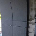 фасад из гранита в башне чкалов одесса