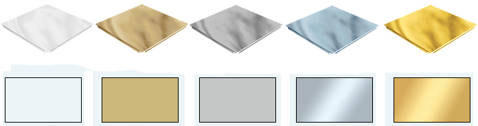 цвета фасадных кассет