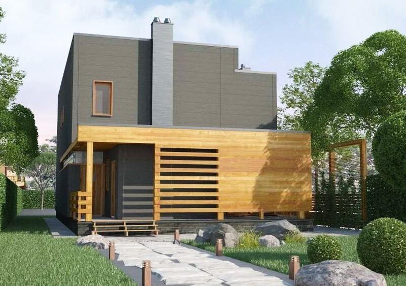 проектирование фасада