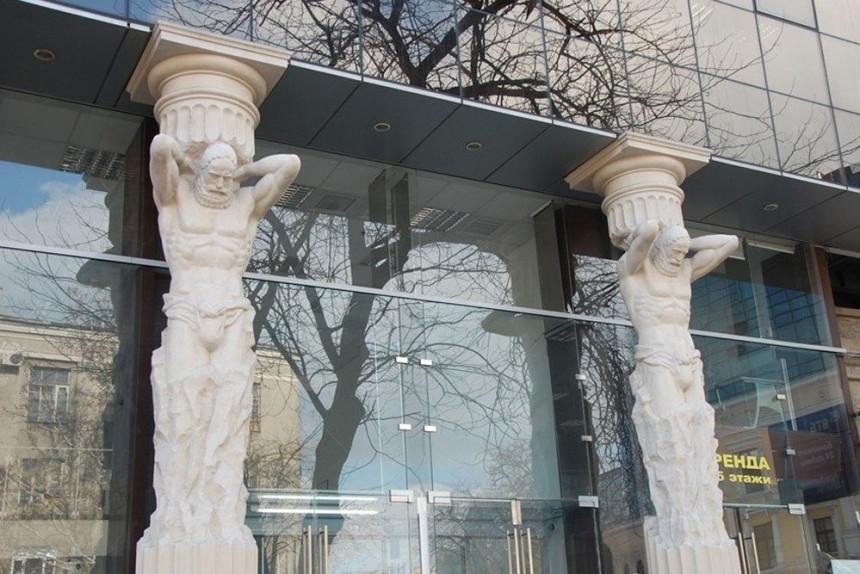 Стеклянный фасад ВТБ