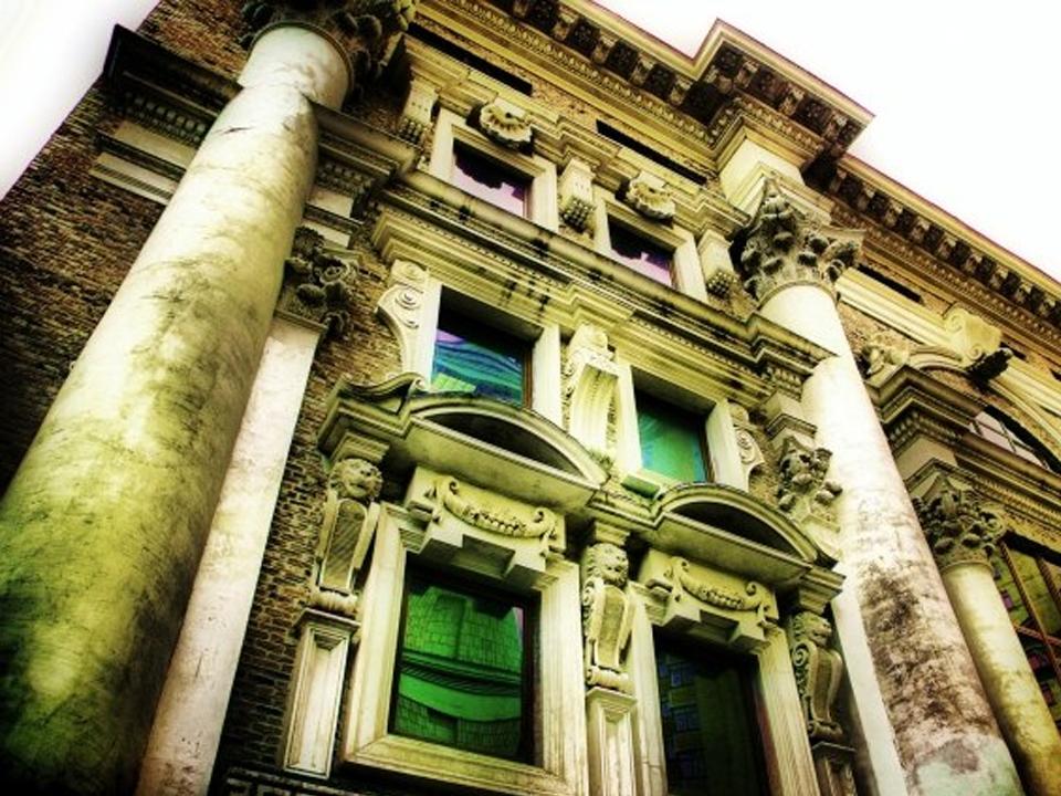 остекление фасадов в 19 веке